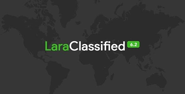 LaraClassified v6.2 - Classified Ads Web Application - nulled