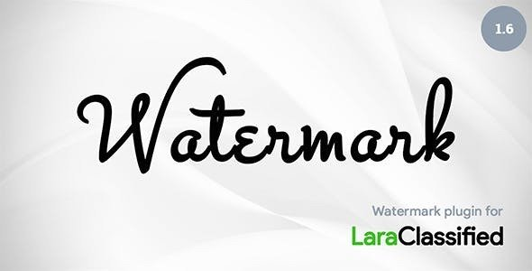 Watermark add-on for LaraClassified v1.6