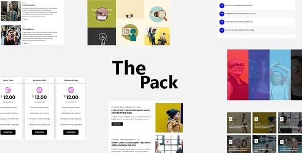 The Pack v1.0 - Elementor Page Builder Addon