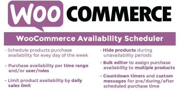 WooCommerce Availability Scheduler v9.5