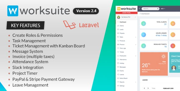 WORKSUITE v2.4 – Project Management System