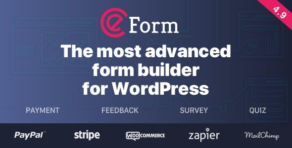 eForm v4.9.0 – WordPress Form Builder