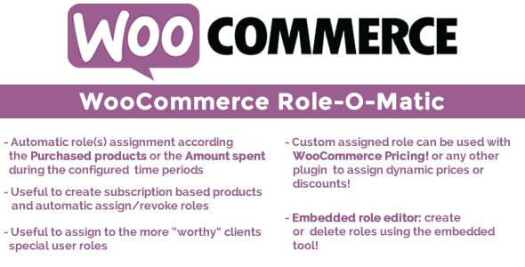 WooCommerce Role-O-Matic v6.3