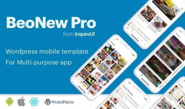 BeoNews Pro v3.0.2 – React Native mobile app for WordPress