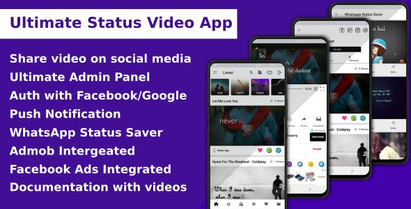 Ultimate Status Video App v1.4