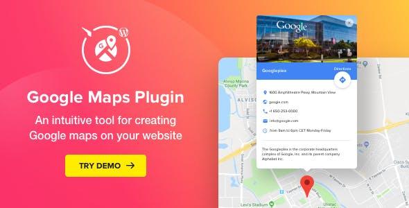 WP Google Maps v2.1.0 - Map Plugin for WordPress
