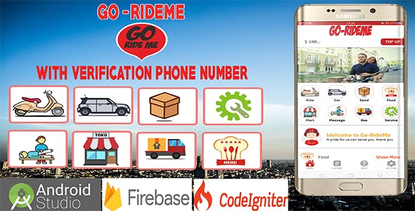 Multi Service Providing App With OTP Verification Phone Number