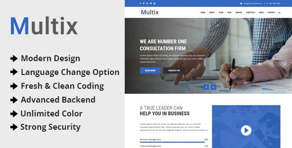 Multix v1 0 – Multipurpose Website CMS with Codeigniter » Premium