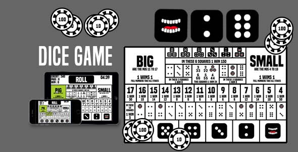 Dice Game - HTML5 Game