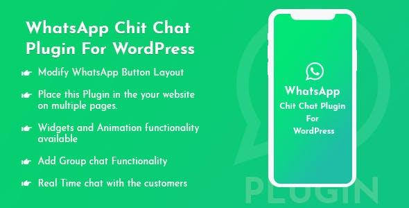 WhatsApp Chit Chat Plugin For WordPress v1.0.0