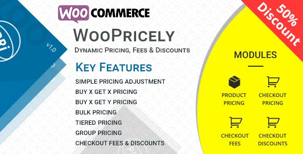 WooPricely v1.1 – Dynamic Pricing & Discounts
