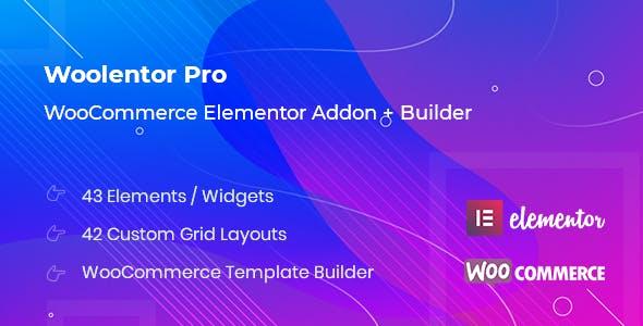 WooLentor Pro v1.0.0 – WooCommerce Elementor Addons + Builder