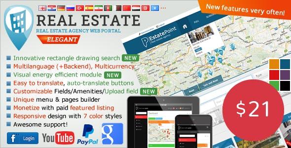 Real Estate Agency Portal v1.6.6 – nulled