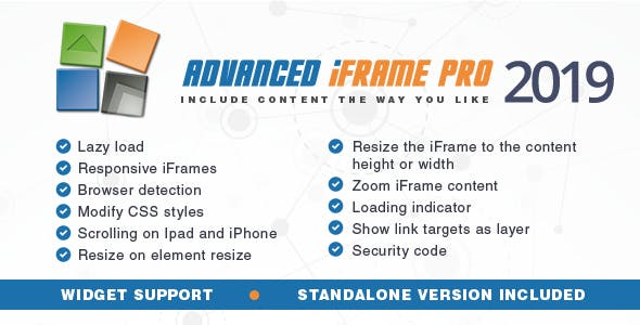 Advanced iFrame Pro v2019.7