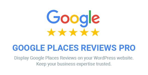 Google Places Reviews Pro v1.8 - WordPress Plugin