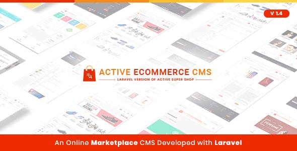 Active eCommerce CMS v1.4 – nulled