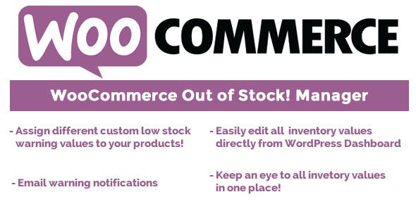 WooCommerce Out of Stock! Manager v4.2