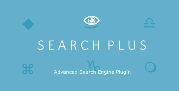 Search Plus v1.2 – Advanced Search Engine Plugin
