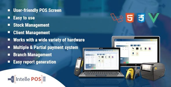 Intelle POS With Inventory System