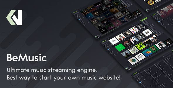 BeMusic v2.3.6 – Music Streaming Engine