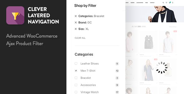 Clever Layered Navigation v1.3.3 - WooCommerce Ajax Product Filter