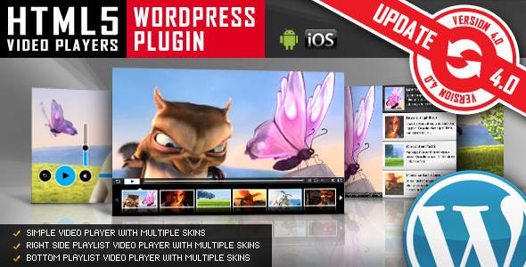 HTML5 Video Player v5.1.2 – WordPress Plugin