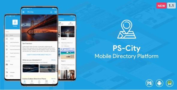 PS City Guide ( Directory/City Guide App For A City ) 1.1