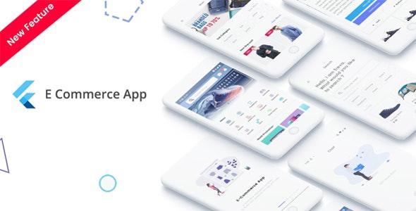 Flutter v1.0 – E-Commerce UI KIT