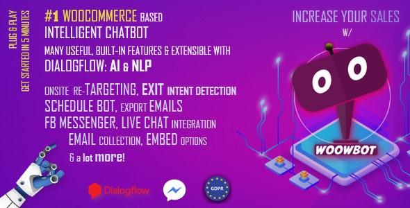 WoowBot v12.2.0 - Chat Bot for WooCommerce