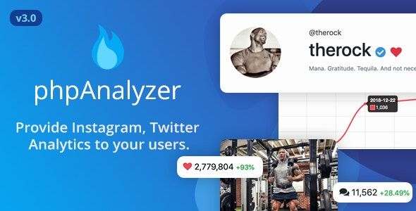 phpAnalyzer v3.0.1 – Social Media Analytics / Statistics Tool – nulled