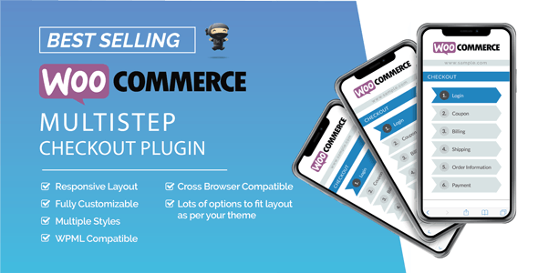 WooCommerce MultiStep Checkout Wizard v3.6.5