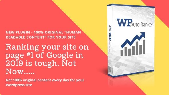 WP Auto Ranker Pro v0.8.5 – Plugin For WordPress