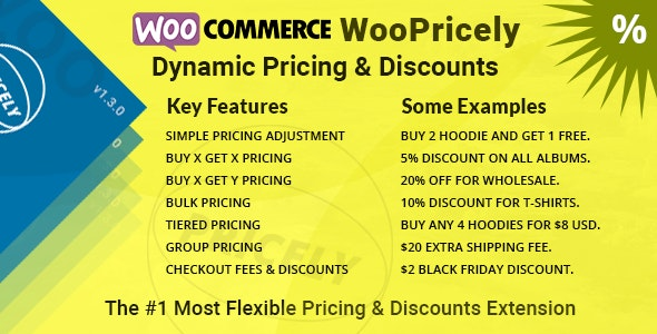 WooPricely v1.3.0 - Dynamic Pricing & Discounts