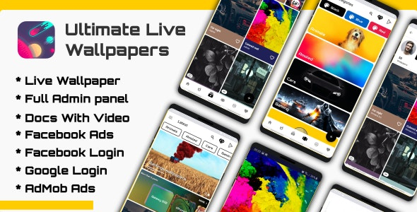 Ultimate Live Wallpapers Application (GIF/Video/Image) v1.0