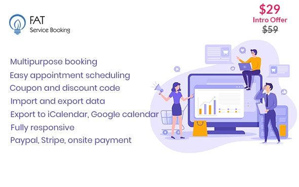 Fat Services Booking v2.9 – Automated Booking and Online Scheduling