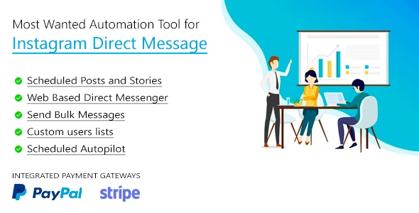 DM Pilot v3.0.1 - Most Wanted SaaS Automation Tool for Instagram Direct Message