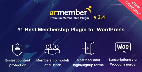 ARMember v3.4 - WordPress Membership Plugin