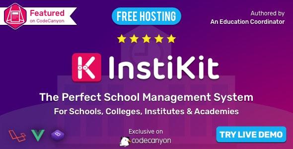 InstiKit School v2.3.0 - School ERP for School, College, Institute and Academy
