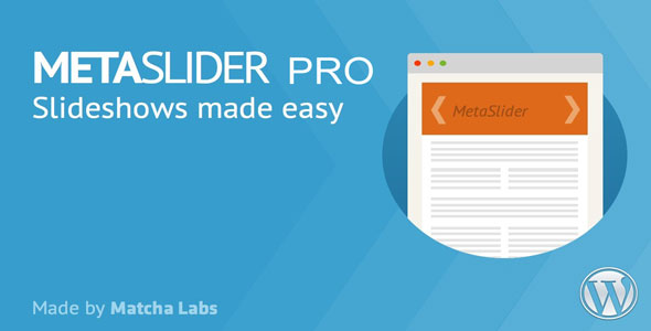 MetaSlider Pro v2.15.0 - WordPress Plugin