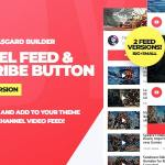Youtube Channel Feeds and Subscribe Box v1.0.0 – WordPress Plugin