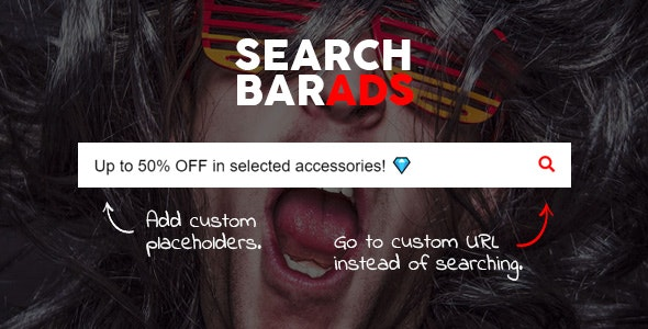 Search Bar Ads v1.0.0 - WooCommerce Plugin