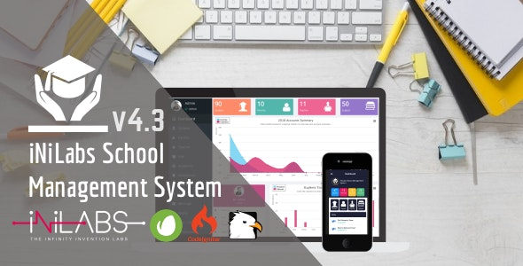 Inilabs School Express v4.3 - School Management System