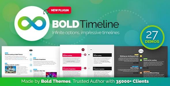 Bold Timeline v1.1.1 - WordPress Timeline Plugin
