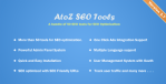 AtoZ SEO Tools v2.7 – Search Engine Optimization Tools