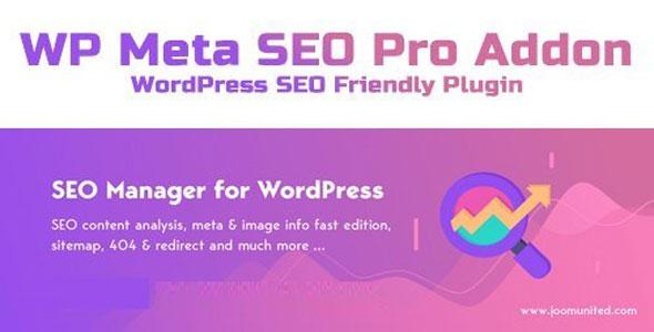 WP Meta SEO Pro Addon v1.4.6 - WordPress SEO Friendly Plugin