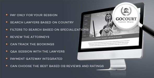 GOCOURT – Online Lawyer Booking Solutions