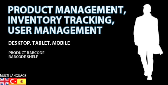 Inventory Tracking, Warehouse, Product and User Management