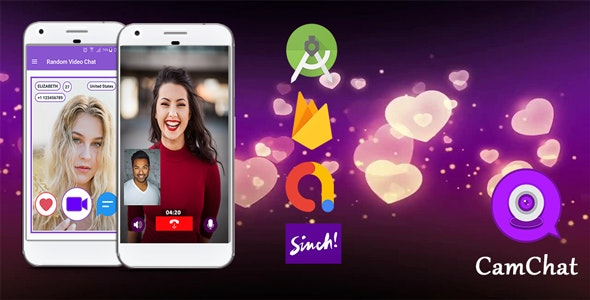 CamChat v1.0 – Android Dating App with Voice/Video Calls