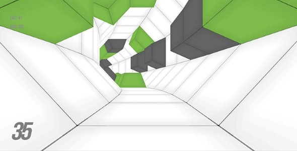 Contrast Tunnel Twist-unity3D With Admob Ads