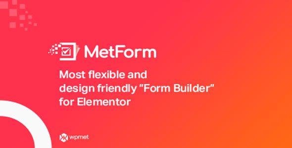 MetForm Pro v1.2.2 - Advanced Elementor Form Builder